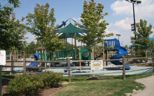 Playground at the Hub.