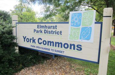York Commons Park, Elmhurst Illinois