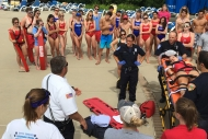 Elmhurst Park District lifeguards participate in safety training