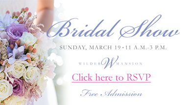 Wilder Mansion Bridal Show