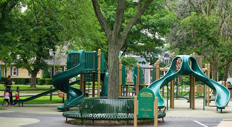 Marjorie Davis park equipment