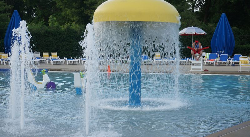 Elmhurst Water Spray Pool