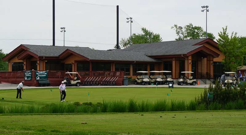 Sugar Creek Golf Course clubhouse