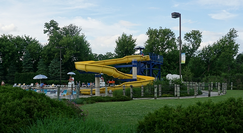 Smalley Park Water Slide