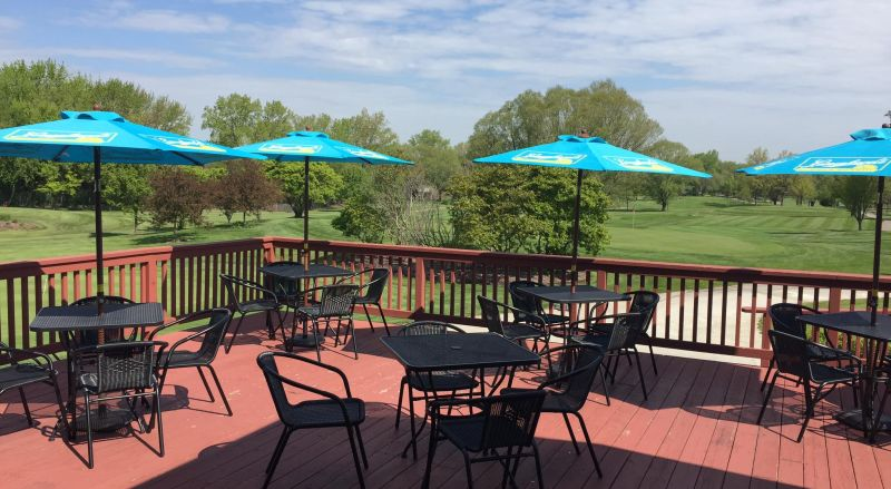 Sugar Creek Golf Course patio