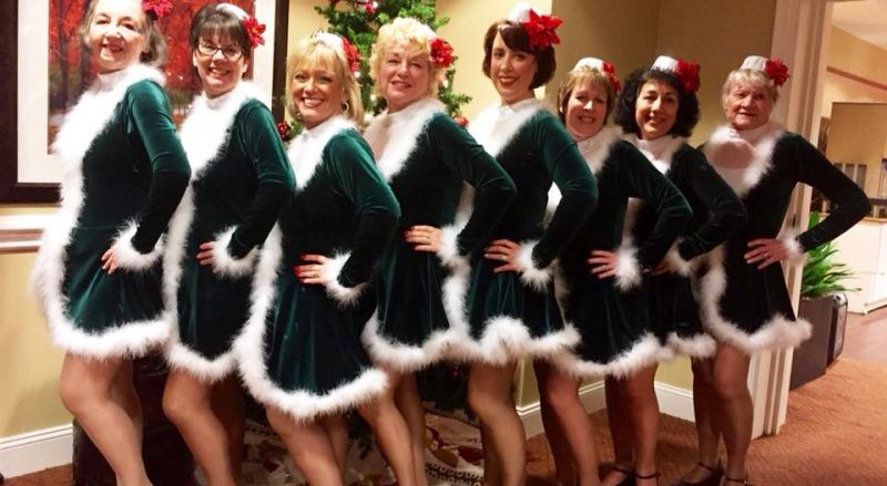 Tree Town Tappers Christmas Dance 2016